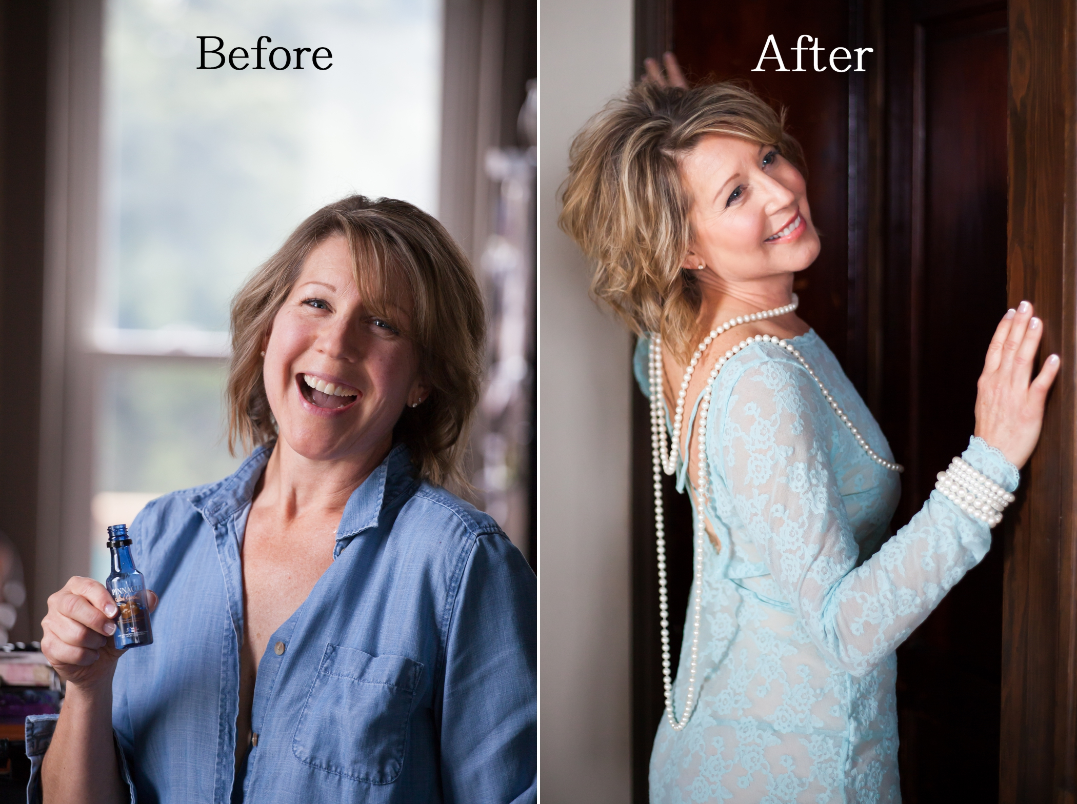 Boudoir Goddess Before After